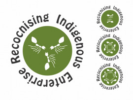 Aboriginal Bush Traders 5 ant accreditation logo design