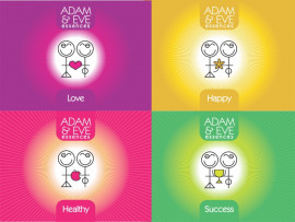 Adam & Eve Essences logo design