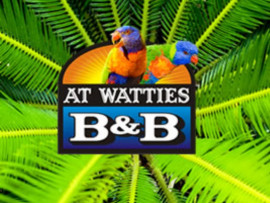 At Watties Bed and Breakfast logo design