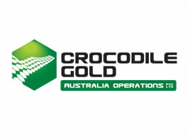 Crocodile Gold Australia logo design