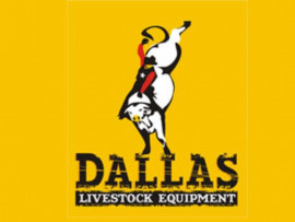 Dallas Livestock Equipment logo design