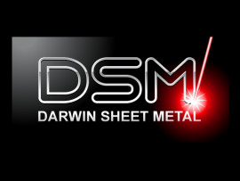 Darwin Sheet Metal logo design