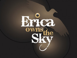 Erica Owns the Sky logo design