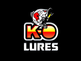 KO Lures logo design