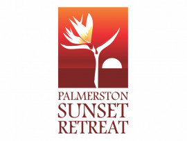 Palmerston Sunset Retreat logo design