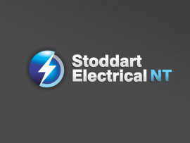 Stoddart Electrical logo design