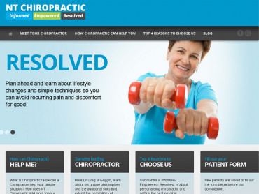 Straightening out NT Chiropractic